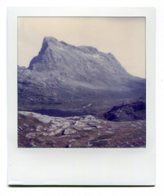 Stigbotthornet, Norway. Polaroid by Florent Dudognon