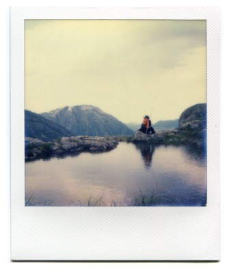 Litlefjellet, Norway. Polaroid by Florent Dudognon