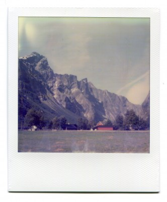 Trollveggen, Norway. Polaroid by Florent Dudognon