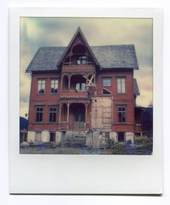 Haunted House, Norway. Polaroid by Florent Dudognon