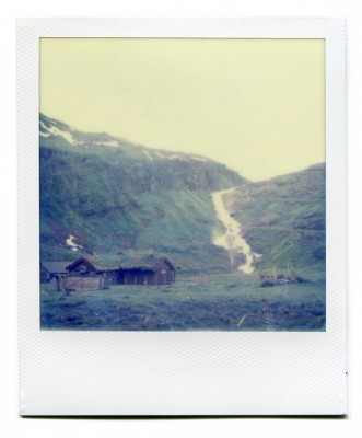 Sendefossen, Norway. Polaroid by Florent Dudognon