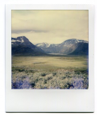 Valdresflya, Norway. Polaroid by Florent Dudognon