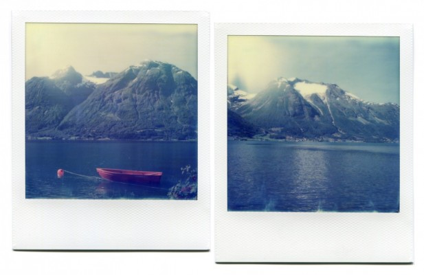 Strynsvatnet, Norway. Polaroid by Florent Dudognon