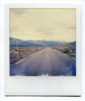 Valdresflye, Norway. Polaroid by Florent Dudognon