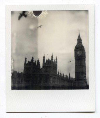 Big Ben, England. Polaroid by Florent Dudognon