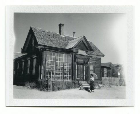 Bodie, USA. Fuji Instant film by Florent Dudognon