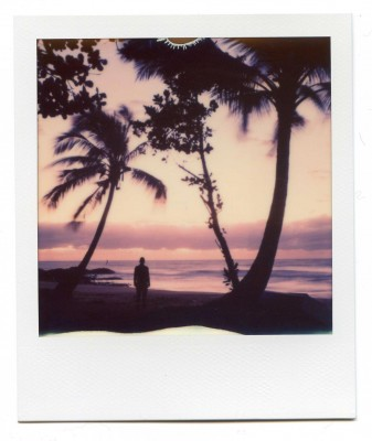 Dawn, Australia. Polaroid by Florent Dudognon
