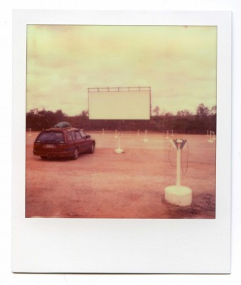 Drive in, Australia. Polaroid by Florent Dudognon