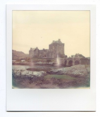 Eilean Donan Castle, Scotland. Polaroid by Florent Dudognon