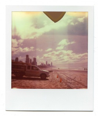 Gold Coast, Australia. Polaroid by Florent Dudognon
