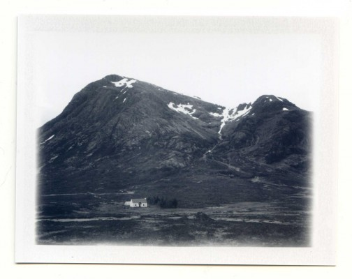 Isolated. Scotland. Fuji Instant film by Florent Dudognon