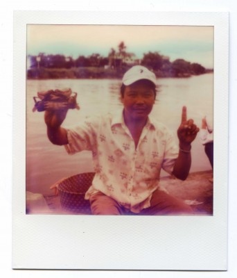 Le Crabe aux pinces d'or. Vietnam. Polaroid by Florent Dudognon