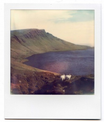 Loch Mor, Scotland. Polaroid by Florent Dudognon