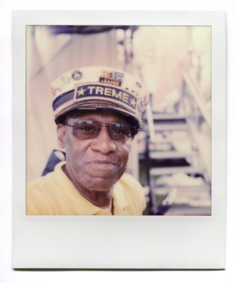 Benny Jones Sr. Polaroid by Florent Dudognon