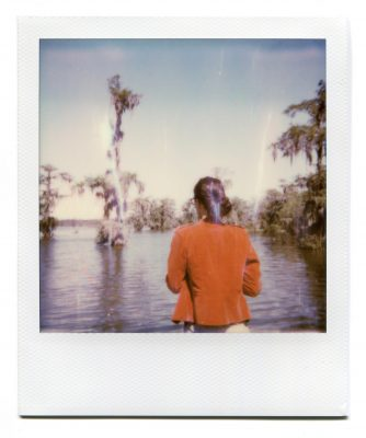 Lake Martin, Louisiana. Polaroid by Florent Dudognon