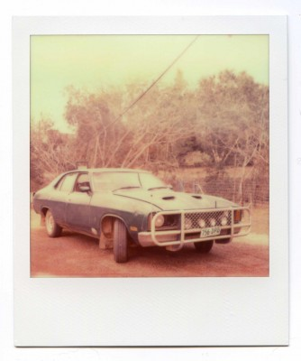 Mad Max, Australia. Polaroid by Florent Dudognon