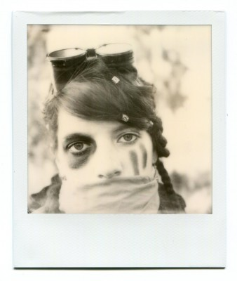 Polaroid portrait by Florent Dudognon