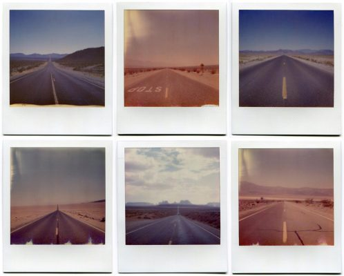 Roads, USA. Polaroids by Florent Dudognon