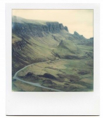 The Road. Quiraing, Isle of Skye, Scotland