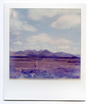 Twelve Bens, Ireland. Polaroid by Florent Dudognon