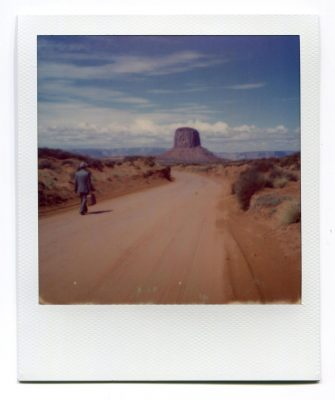 Walk. USA. Polaroid by Florent Dudognon