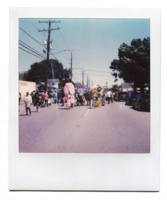 Westbank Super Sunday Parade 2019. Polaroid by Florent Dudognon