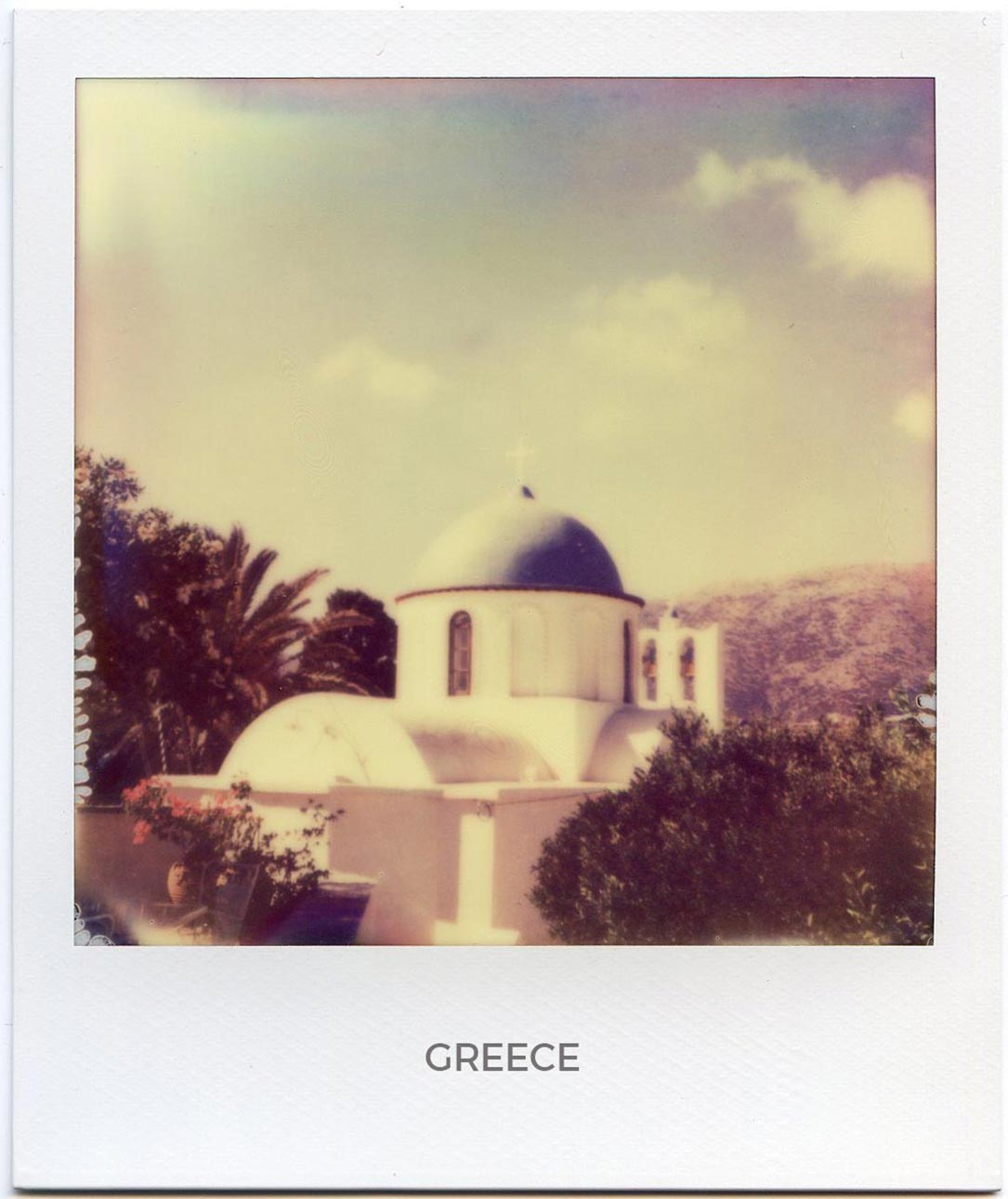 Florent Dudognon greece polaroid