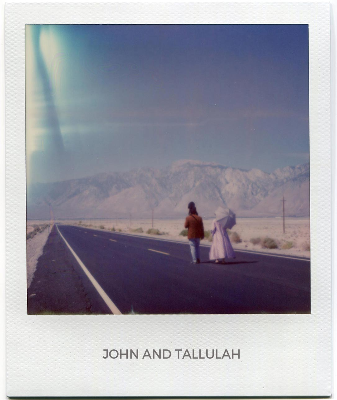 Florent Dudognon polaroid John and Tallulah