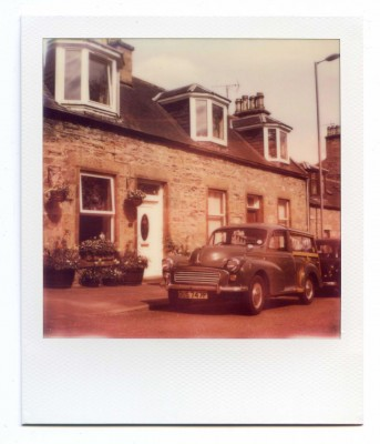 Olden. Scotland. Polaroid by Florent Dudognon