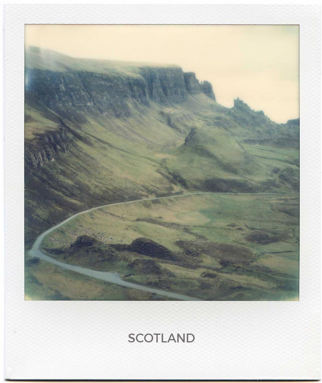 Florent Dudognon scotland polaroid