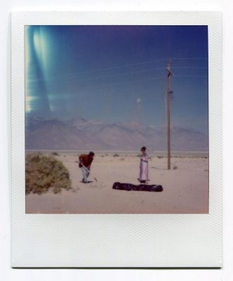 The Body. USA. Polaroid by Florent Dudognon