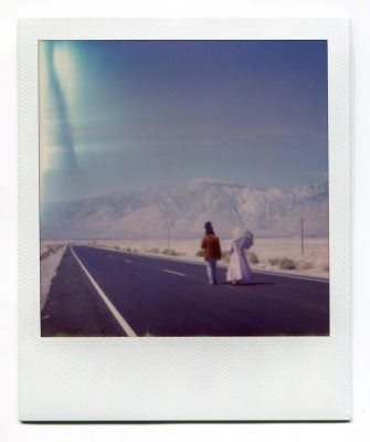 The End. USA. Polaroid by Florent Dudognon