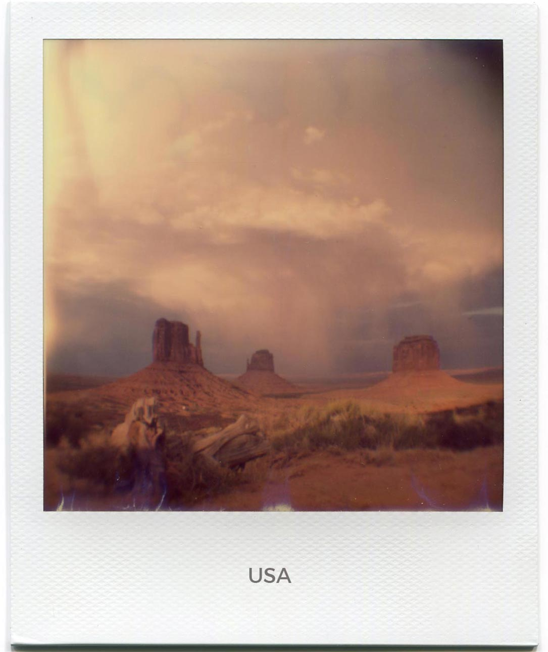 Florent Dudognon usa polaroid