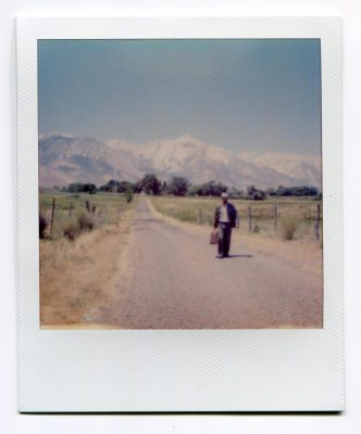 Walk again. USA. Polaroid by Florent Dudognon
