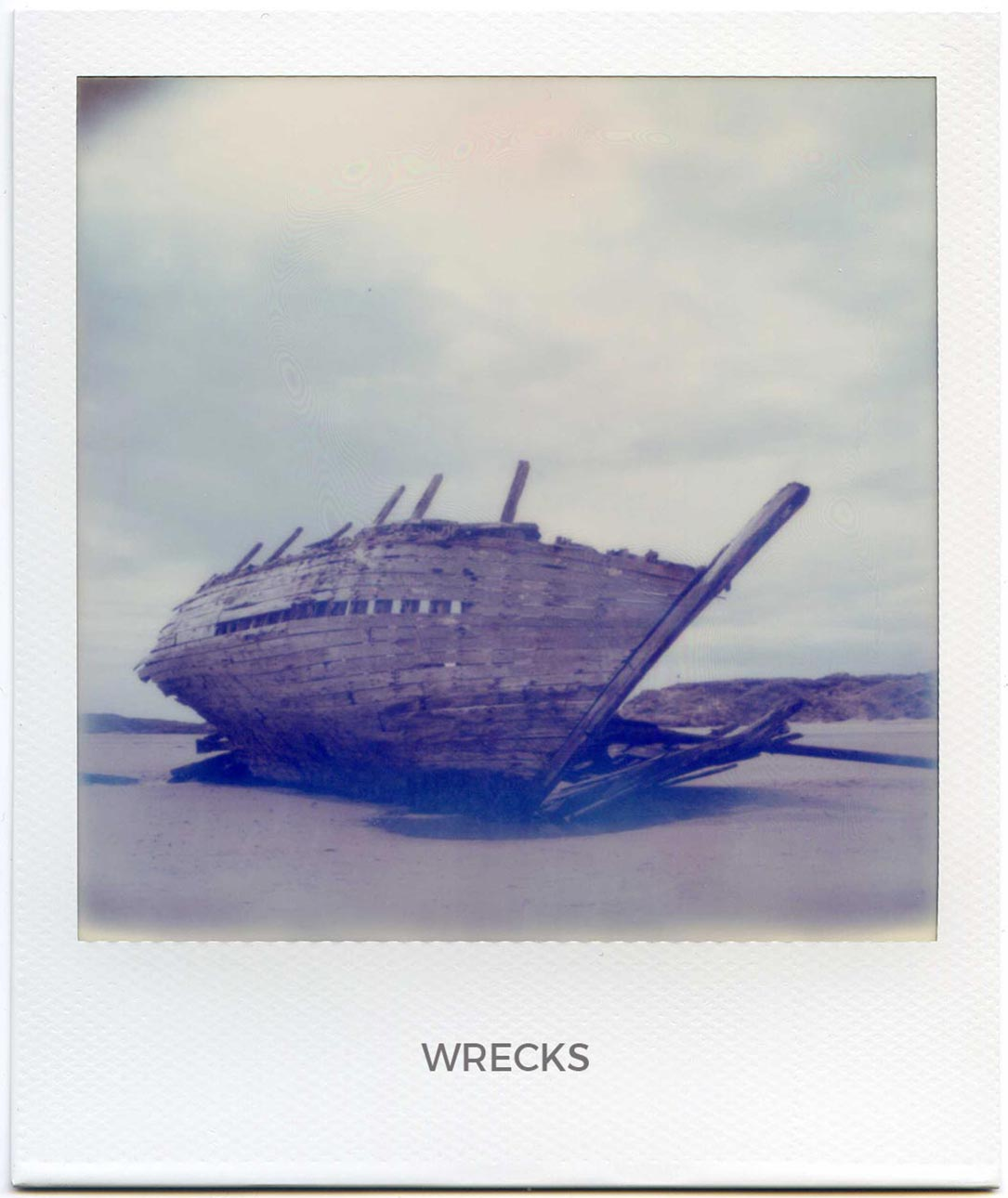 Florent Dudognon wrecks polaroid