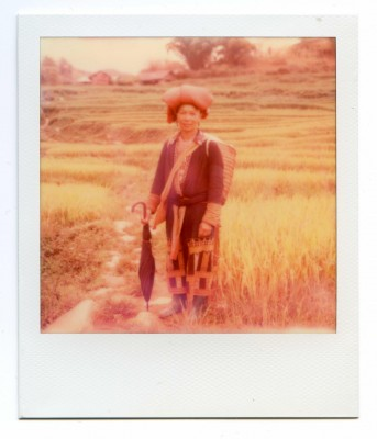 Ta May, Vietnam. Polaroid by Florent Dudognon