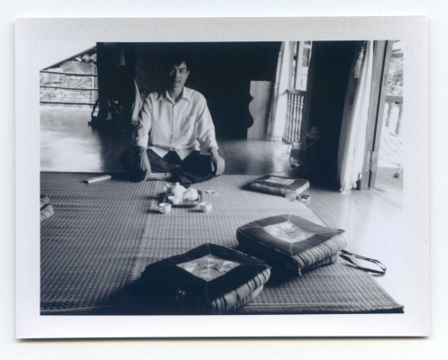 Tea time, Vietnam. Fuji Instant film by Florent Dudognon