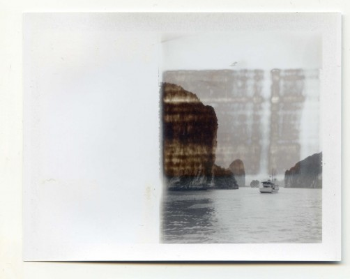 The Boat. Vietnam. Fuji Instant film by Florent Dudognon
