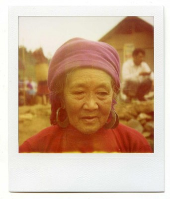 Vietnam portrait. Polaroid by Florent Dudognon